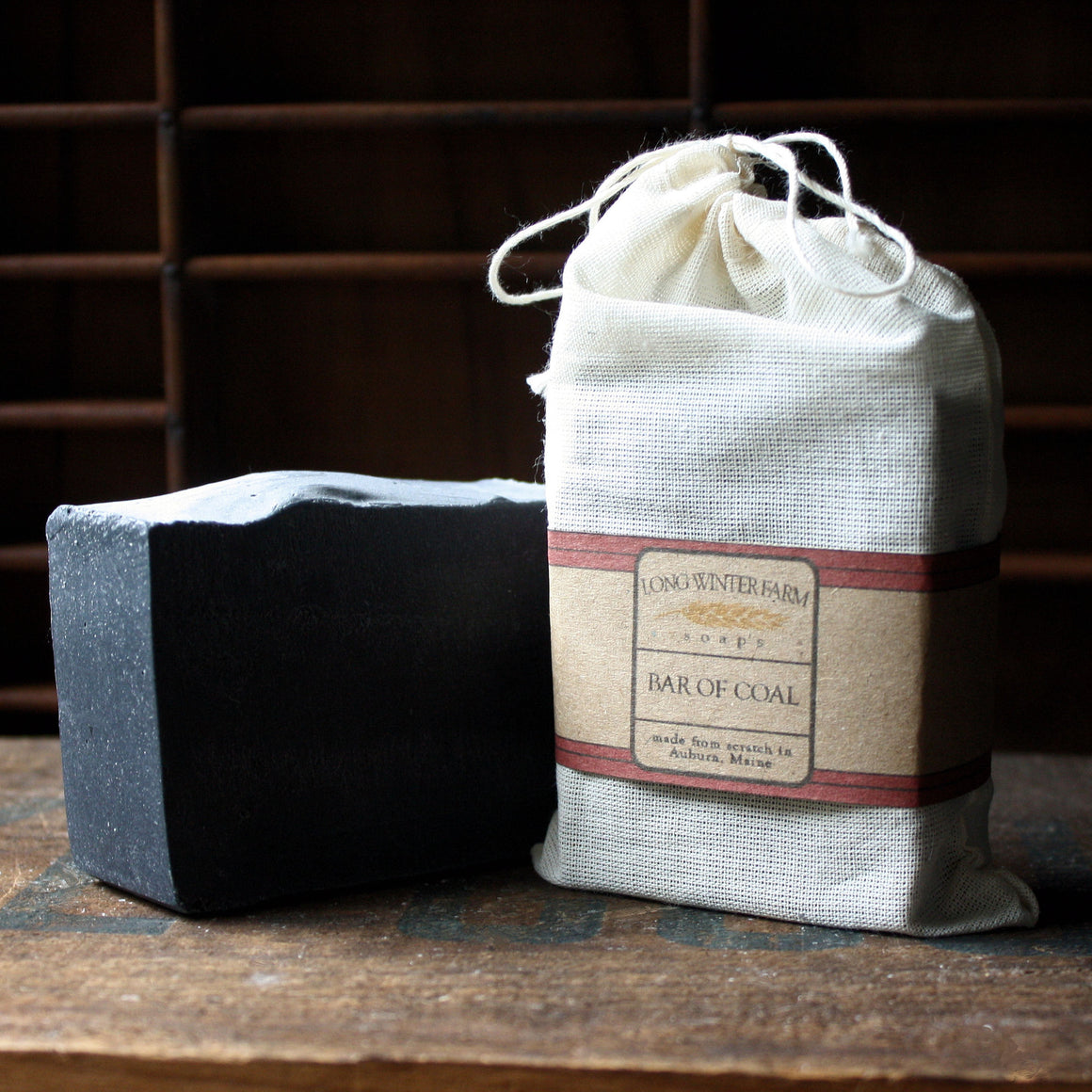 Bar of Coal Cold Process Soap