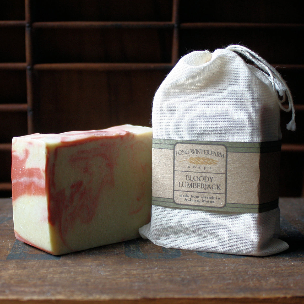 Bloody Lumberjack Cold Process Soap