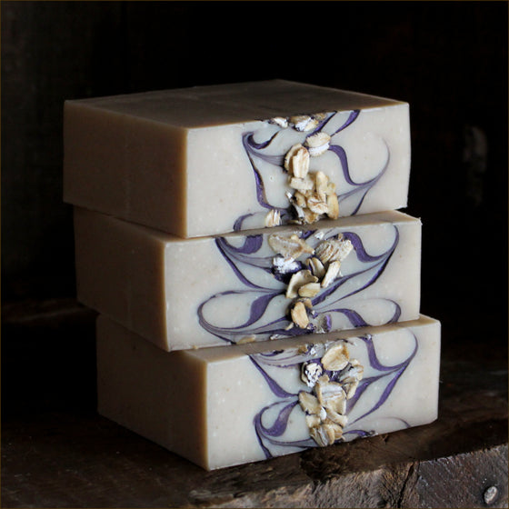 Blueberry Crumble Cold Process Soap