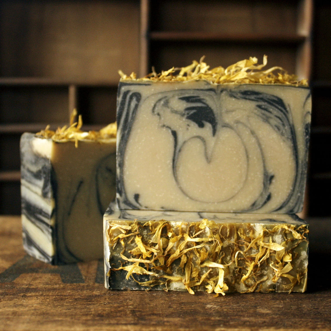 Cedar and Saffron Goat Milk Cold Process Soap