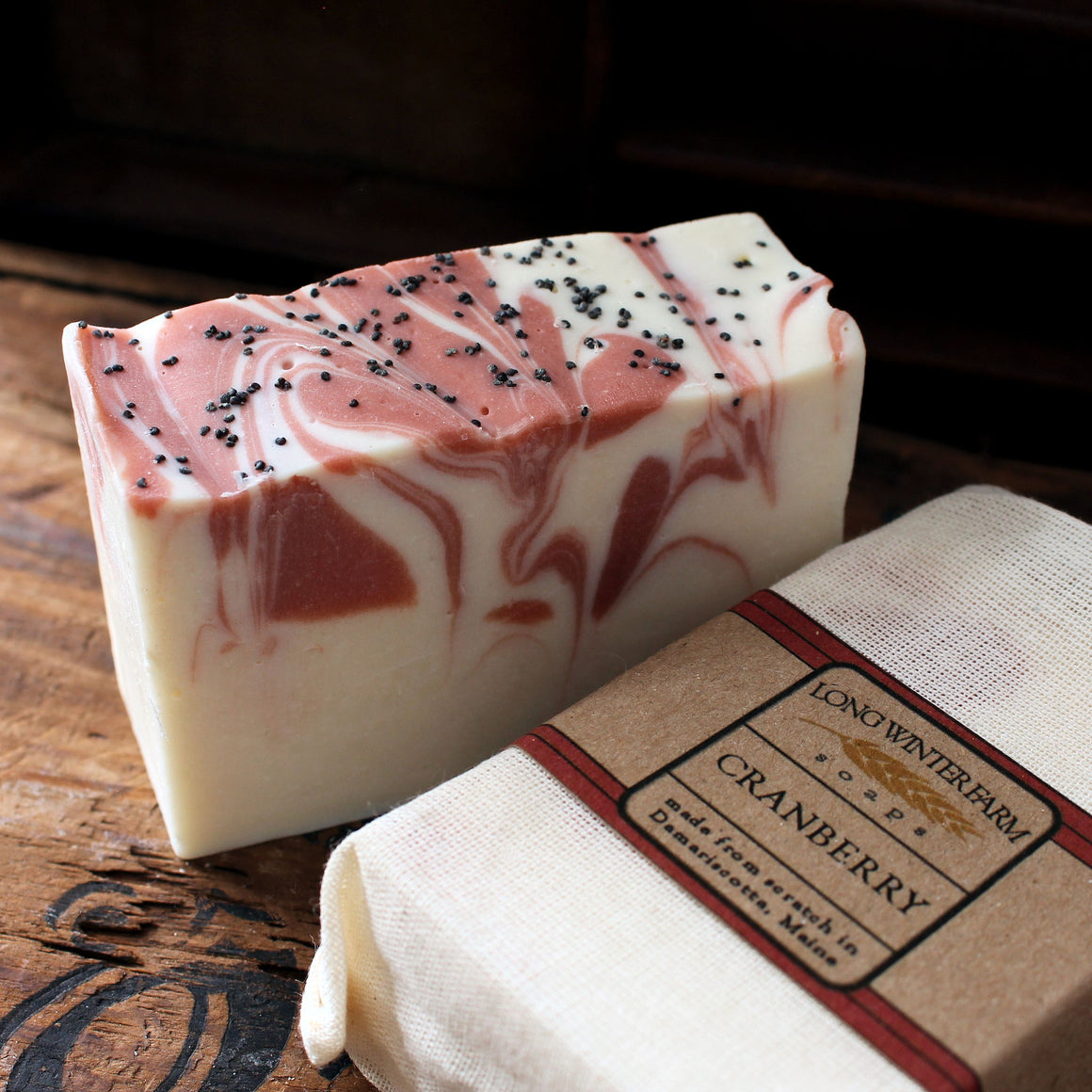 Cranberry Vegan Cold Process Soap