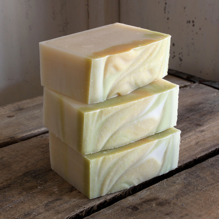 Dandelion Cold Process Soap