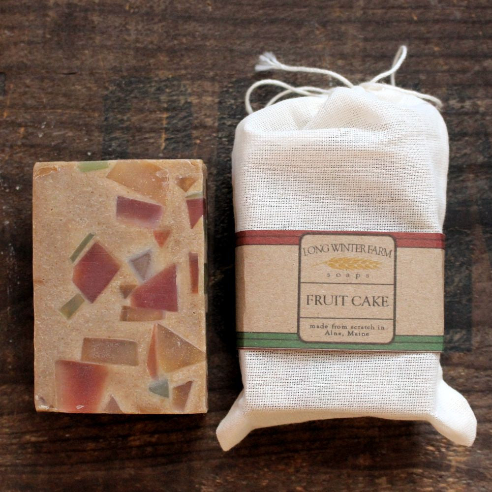 Fruit Cake Cold Process Soap