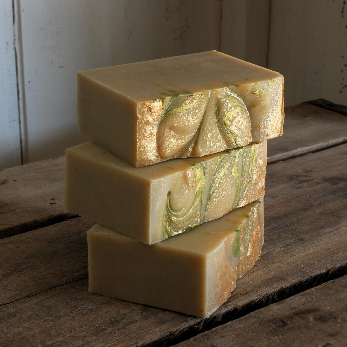 Honey Mint Cold Process Soap