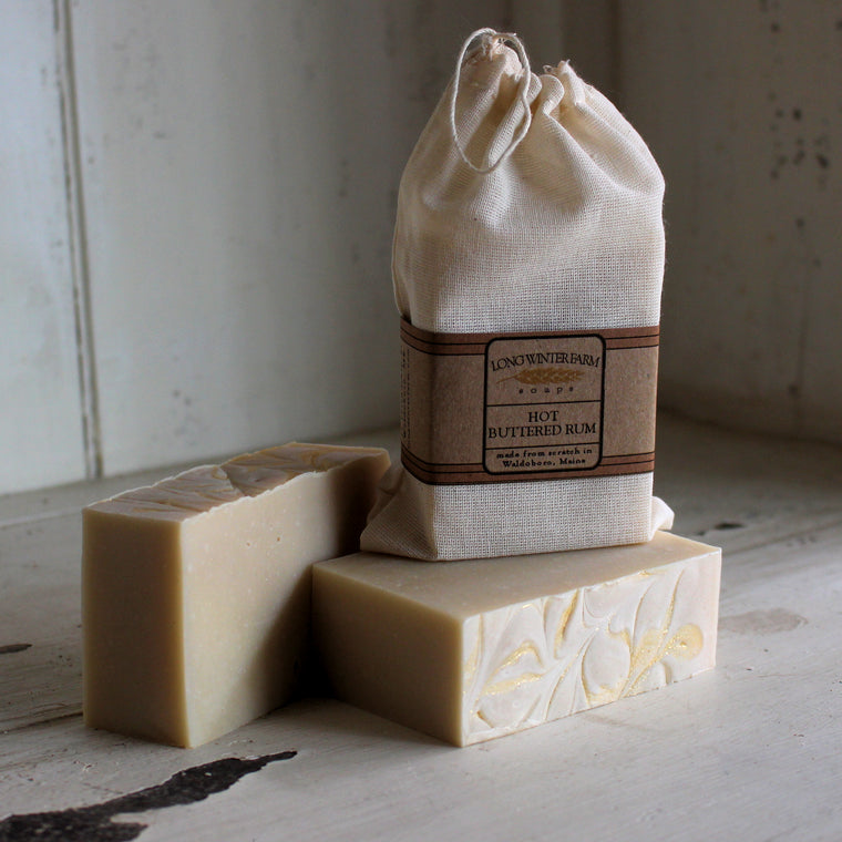 Hot Buttered Rum Cold Process Soap