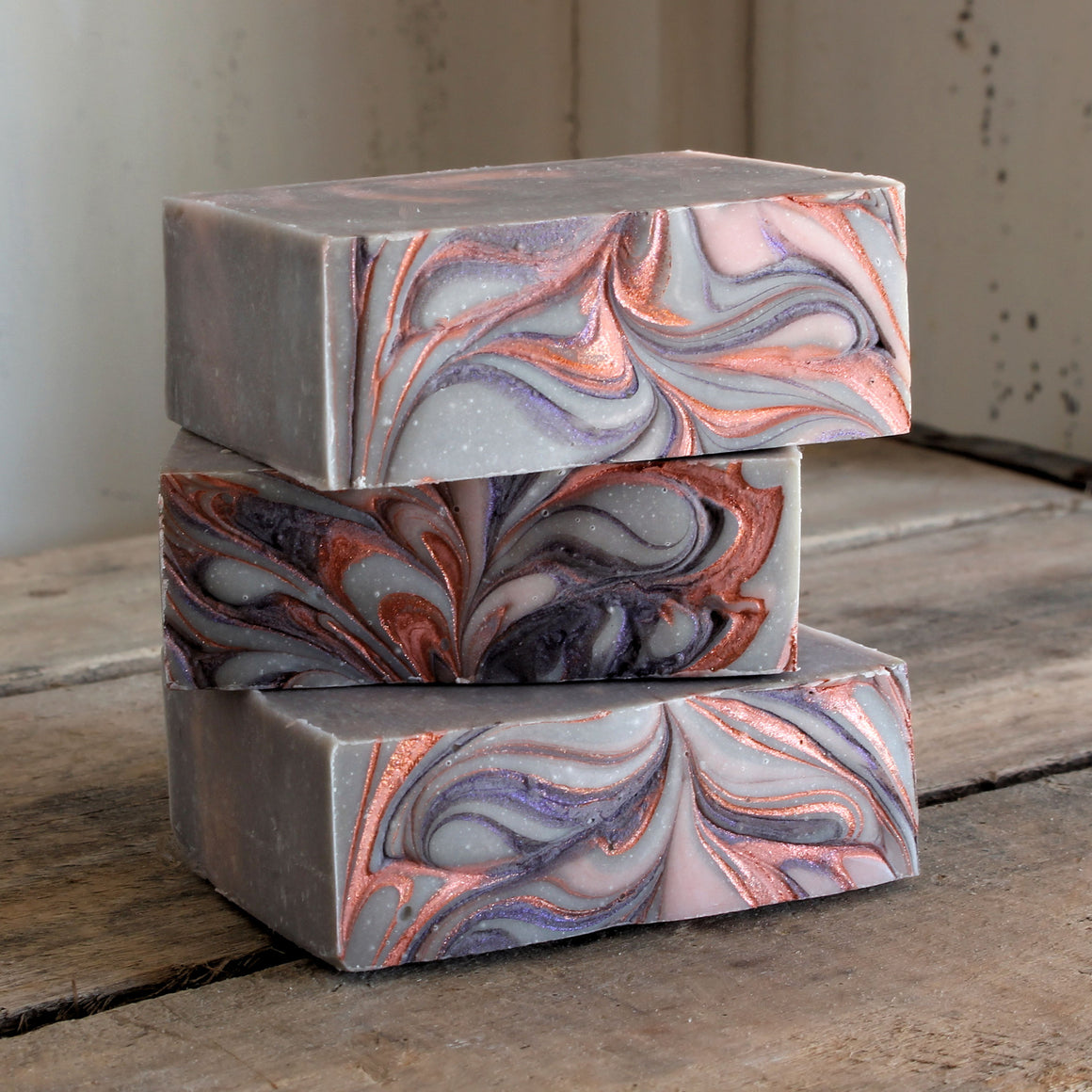 Lavender Geranium Cold Process Soap