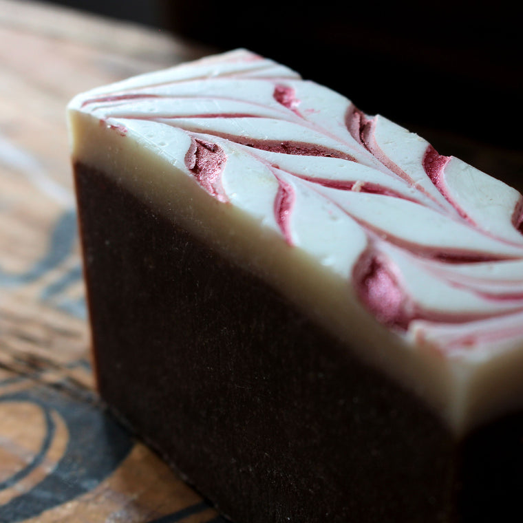 Peppermint Hot Cocoa Vegan Cold Process Soap