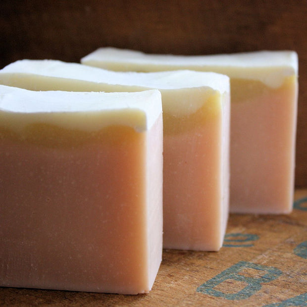 Pink Grapefruit Cold Process Soap