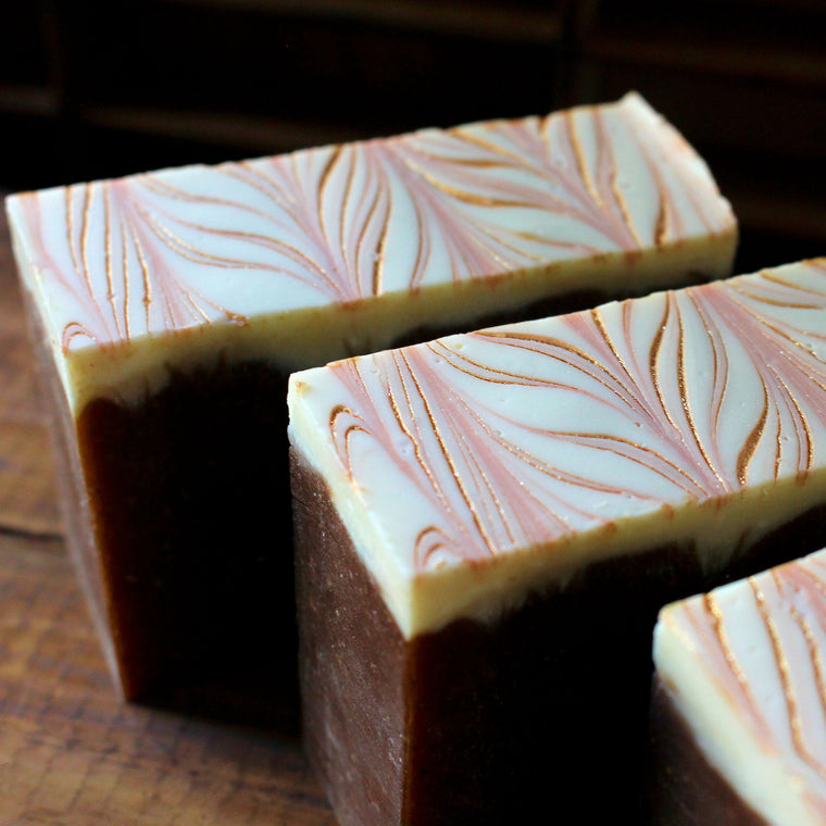 Pumpkin Hot Cocoa Cold Process Soap