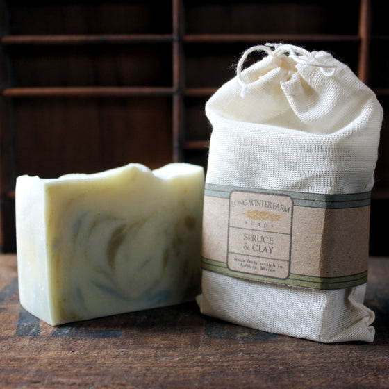 Spruce & Clay Cold Process Soap