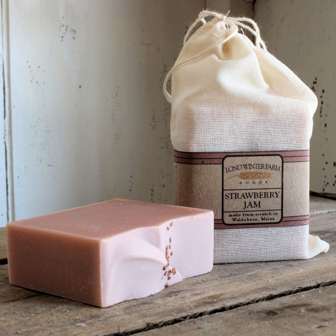 Strawberry Jam Cold Process Soap