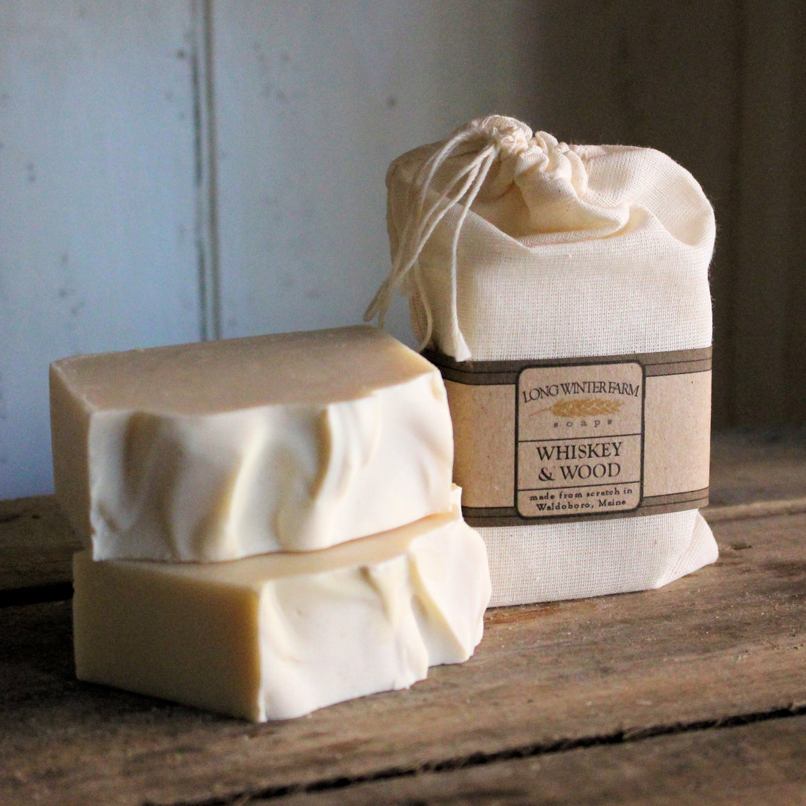 Whiskey & Wood Cold Process Soap