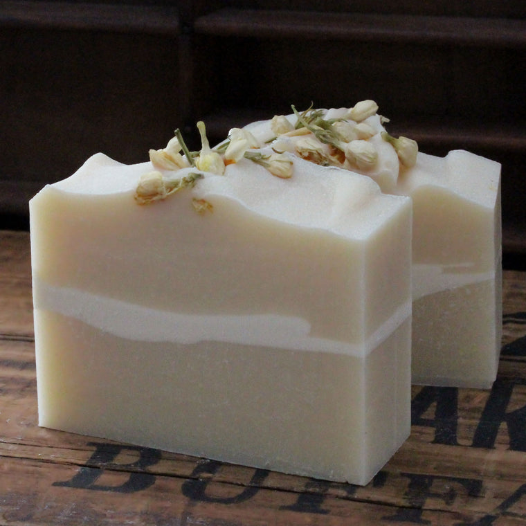 White Tea & Jasmine Cold Process Soap