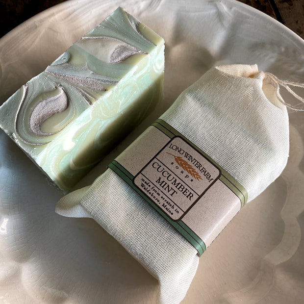 Cucumber Mint Cold Process Soap