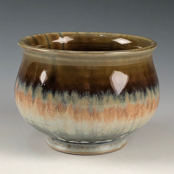 Tea Bowl Blue Ash