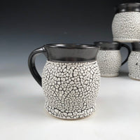 Mug Black and White Crawling