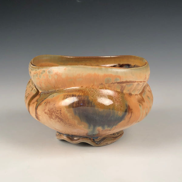 Tan Ash Tea Bowl