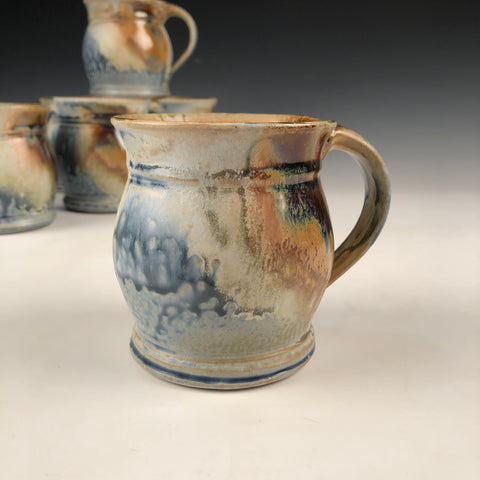 Blue Ash Mug-Two Finger