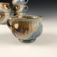 Blue Ash Mug-One Finger
