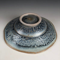 Pasta Bowl with Blue Ash Glaze