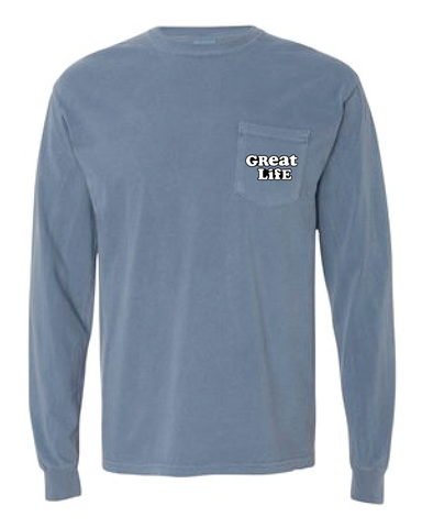 Long Sleeve Go-To Pocket T