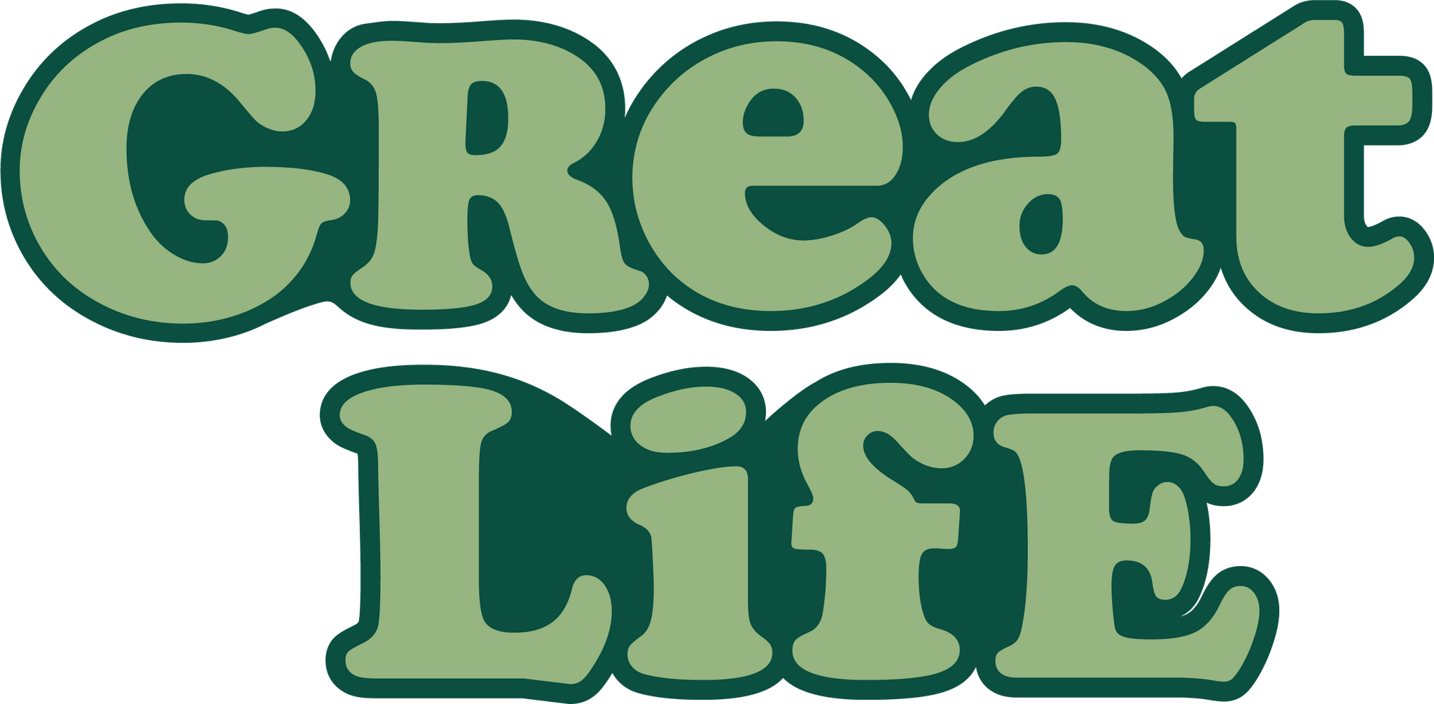 Great Life Stickers