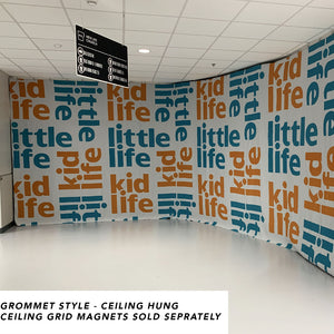 Custom Printed Scuba Walls     FREE SHIPPING