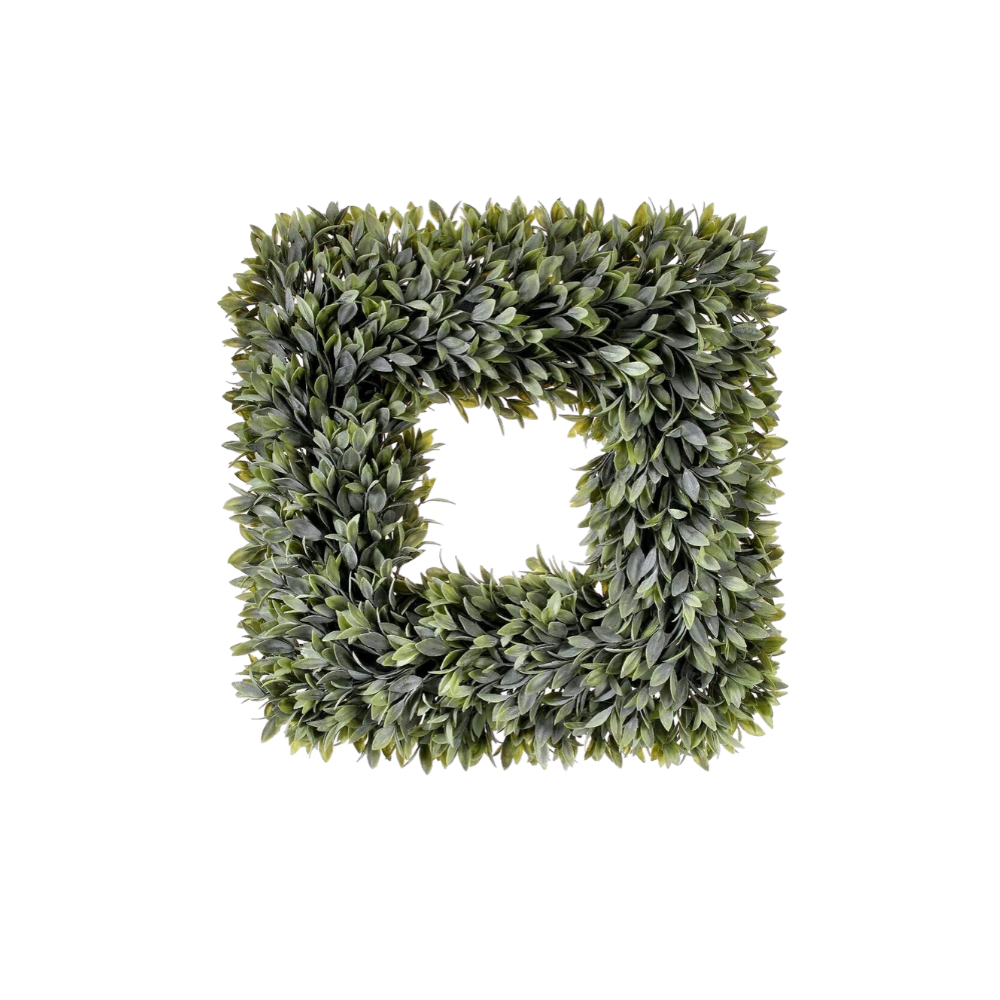 Faux Sage Wreath