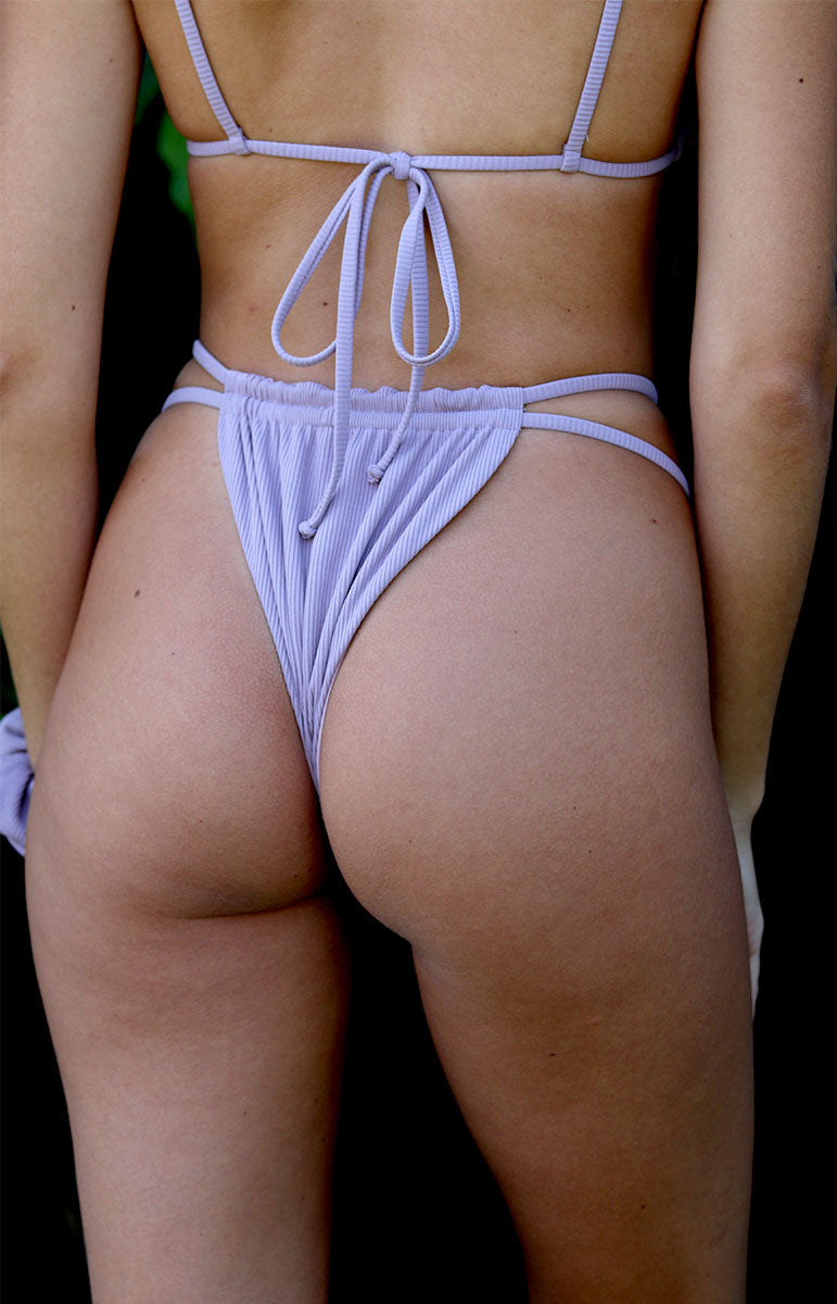 purple two strap thong bottom tai swim co joelle bottom ube spring collection