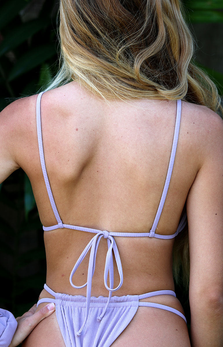 joelle top with ties tai swim co ribbed bikinis in hawaii