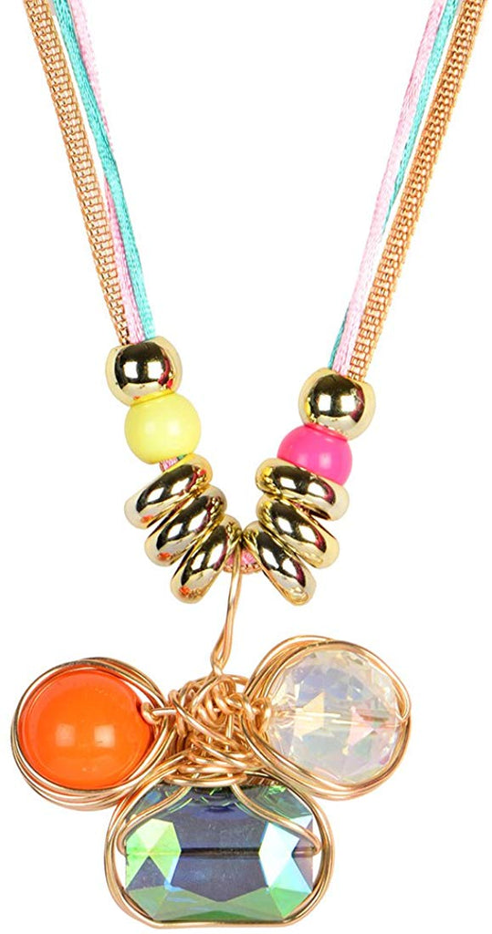 Double Layer Long Pendant Necklace