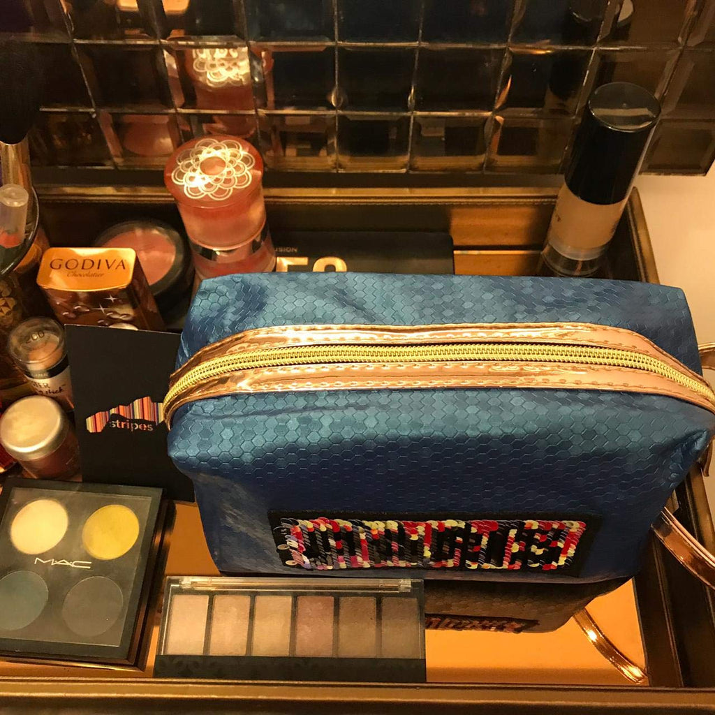 Cosmetic Bag / Toiletries / Make up Pouch.