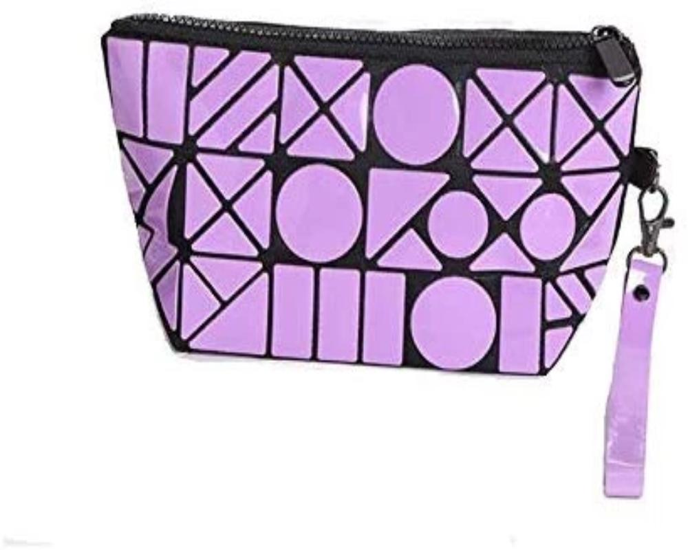 Geometric Design Toiletries Make up Pouch