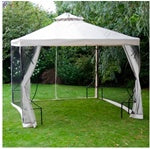 10' x 10' Beige Canopy Replacement Top with Net