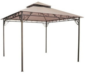 10' x 10' Tan Gazebo Canopy Replacement Top