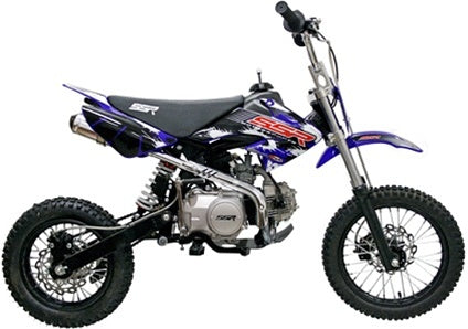 124cc SR125SEMI Dirt Bike