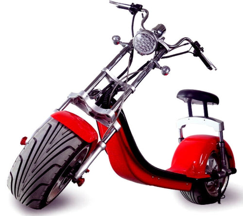 Electric Fat Tire E-Mod 2000 Watt Scooter Chopper Bike Like CityCoco Bike