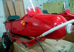 Classic Rocket Side Car Motorcycle Sidecar Kit - Fits All Ducati Models