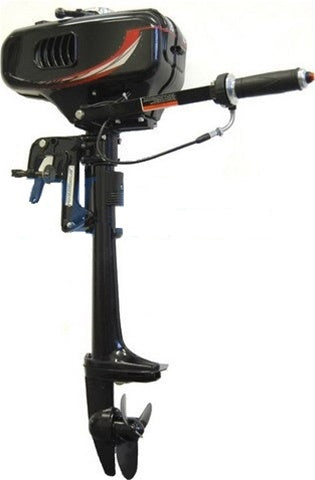 Brand New 2 HP 2 Stroke Water-Cooled Outboard Motor with Propeller
