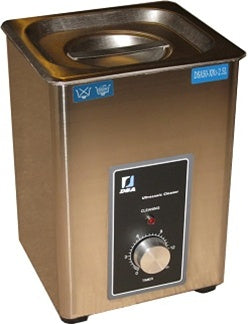 New For This Year - The Stainless Steel 2.5 Liter Ultrasonic Cleaner w/ Analog Control