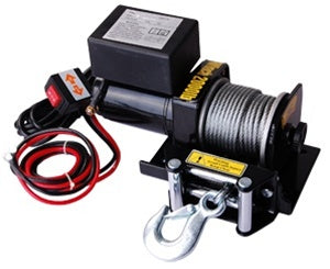 2000 LB Capacity 12V Electric Winch