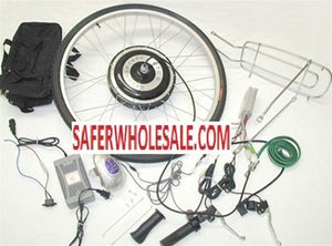 "Complete 26"" - 1000 Watt 48V Electric Motorized Bicycle Kit"