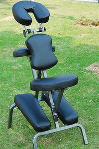 "3.5"" Black Foam Portable Massage Chair"