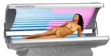 32 Lamp Tanning Bed With Counter