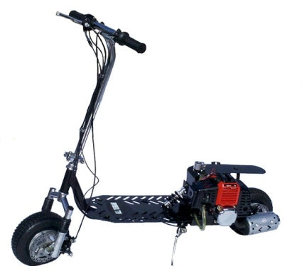 49cc Dirt Dog 2-Stroke Gas Scooter Moped