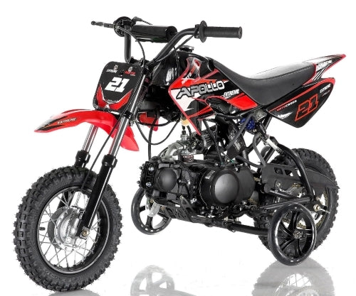 70cc Dirt Bike Semi Automatic Pit Bike 10