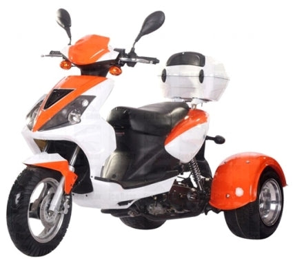 50cc Mojo Trike Scooter Moped - Limited availability