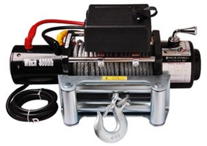 8000 LB Capacity 12V Electric Winch