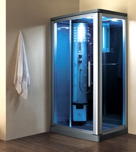 "Zen Brand New Walk-In Steam Shower 45"" x 34"" x 85"""