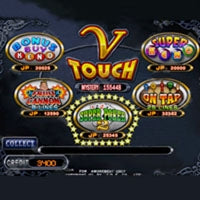 V Touch Cherry Master LCD Video Slot Machine Game